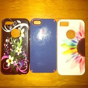 GUC. Iphone 5/5s hard cases